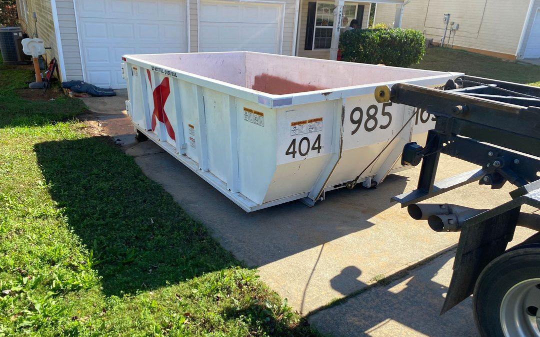 PinkDumpster | Residential Dumpster Rental in Conyers