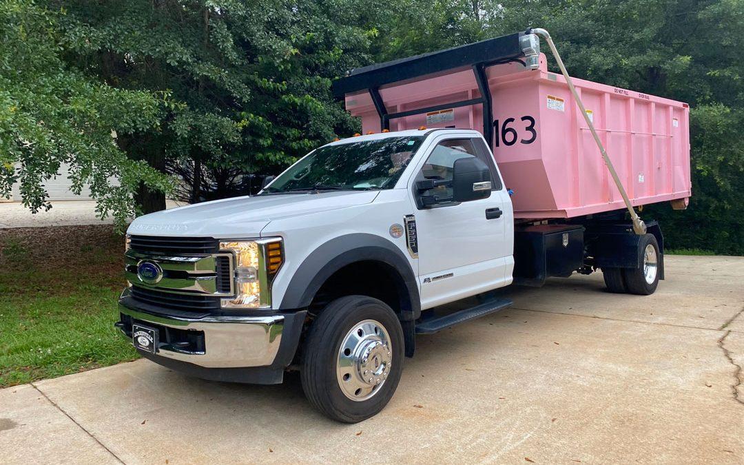 PinkDumpster   Residential Dumpster Rental in Conyers