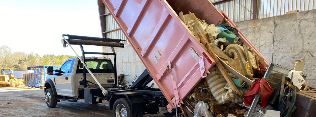 Dumpster Rental McDonough GA Interior Hero